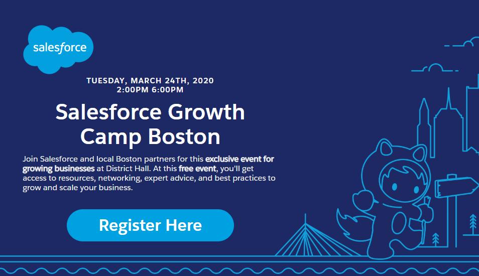 Salesforce Growth Camp Boston
